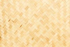Bamboo weave texture Stock Photo