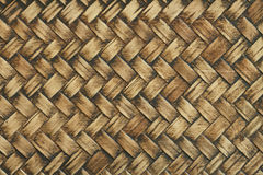 Bamboo woven texture Stock Images