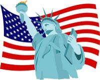 Bandeira da liberdade Fotos de Stock