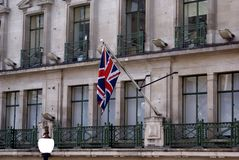 Bandeira de Jack de união A bandeira do Reino Unido Fotos de Stock