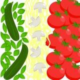 Bandeira do alimento de Itália Fotografia de Stock