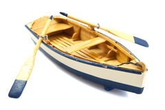 Barca di riga Immagine Stock