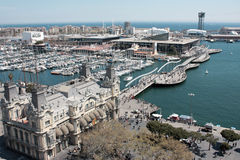 Barcelona Port Royalty Free Stock Images