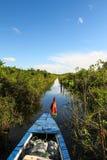 Barco que cruza as Amazonas Foto de Stock Royalty Free