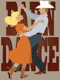 Barn dance Royalty Free Stock Photo
