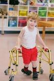 Barn med handikapp Royaltyfri Fotografi