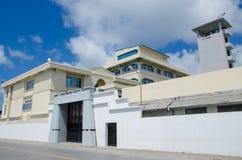Base militare al maschio maldives Immagine Stock