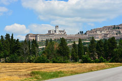 Basilica San Francesco, Assisi/Italy Royalty Free Stock Images