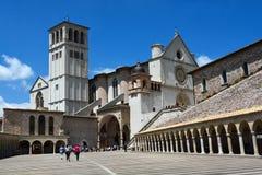 Basilica San Francesco, Assisi, Umbria/Italy Royalty Free Stock Photography