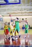 Basketball game between UNION and undefined team Royalty Free Stock Photography
