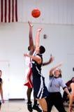 Basketball jump blur Stock Photo