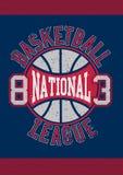 Basketball National League 83 Royalty Free Stock Photo