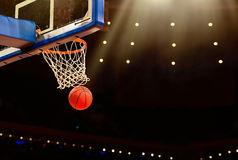 Basketbalspel Stock Fotografie