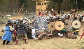 Battle field Stock Image