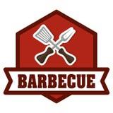 Bbq and butchery theme Stock Image