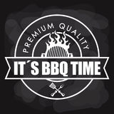 Bbq and butchery theme Royalty Free Stock Photos