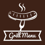Bbq and butchery theme Royalty Free Stock Images