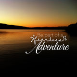 Be part of fearless adventure Stock Image