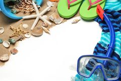 Beach stuff Royalty Free Stock Photography