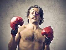 Beaten boxer Stock Image