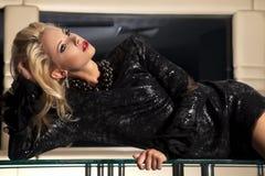 Beautiful adult sensuality woman Stock Image