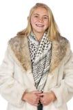 Beautiful blond teen Stock Photo
