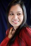 Beautiful and charming asian woman Stock Photo