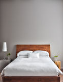 Beautiful Clean and Modern Bedroom Royalty Free Stock Photos