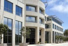 Beautiful Corporate Office Building in California Stock Photo