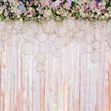 Beautiful flowers background for wedding scene Stock Photos