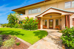 Beautiful Home Exterior Royalty Free Stock Images