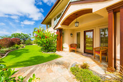 Beautiful Home Exterior Royalty Free Stock Image