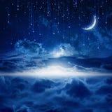 Beautiful night sky Stock Image