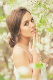 Beautiful Spring Girl Stock Image
