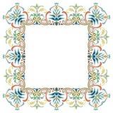 Beautiful textured border frame Stock Image