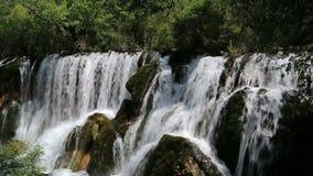 A beautiful waterfall video stock video footage