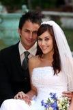 Beautiful Wedding Couple Royalty Free Stock Photography