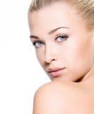 Beauty  skin of face Royalty Free Stock Photo