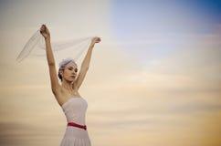 Beautyful sad bride Royalty Free Stock Image