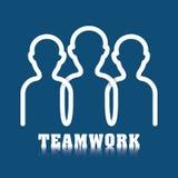 Bedrijfsgroepswerk en leiding Stock Afbeeldingen