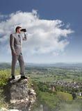 Bedrijfsvisie Stock Foto's
