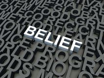 Belief Stock Photo