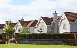 Belle case di campagna residenziali in Irlanda Fotografie Stock