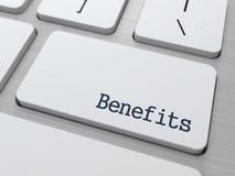 Benefícios. Conceito do negócio. Imagens de Stock Royalty Free