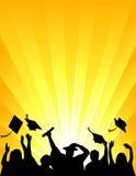 berömeps-avläggande av examen Fotografering för Bildbyråer
