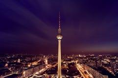 Berlin TV Tower Stock Photography