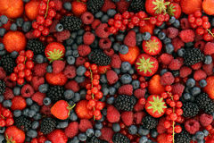 Berry fruits Royalty Free Stock Photos