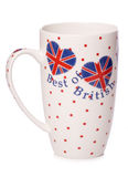 Best of british tea cup cutout Stock Images