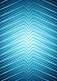 Big blue smooth arrows design Stock Photo
