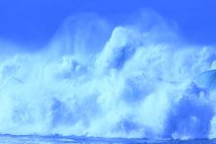 Big blue waves Royalty Free Stock Photo